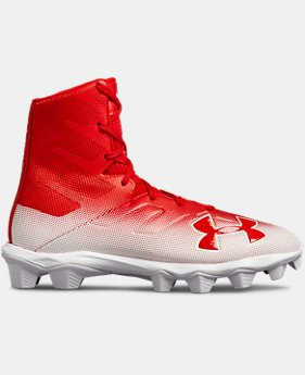 New Arrival Boys' UA Highlight RM Jr. Football Cleats   $55