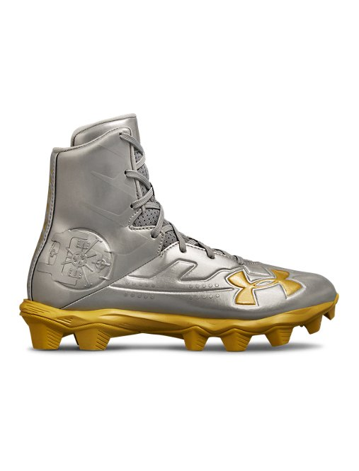 f8e2e81ea This review is fromBoys' UA Highlight RM Jr. LE Football Cleats.