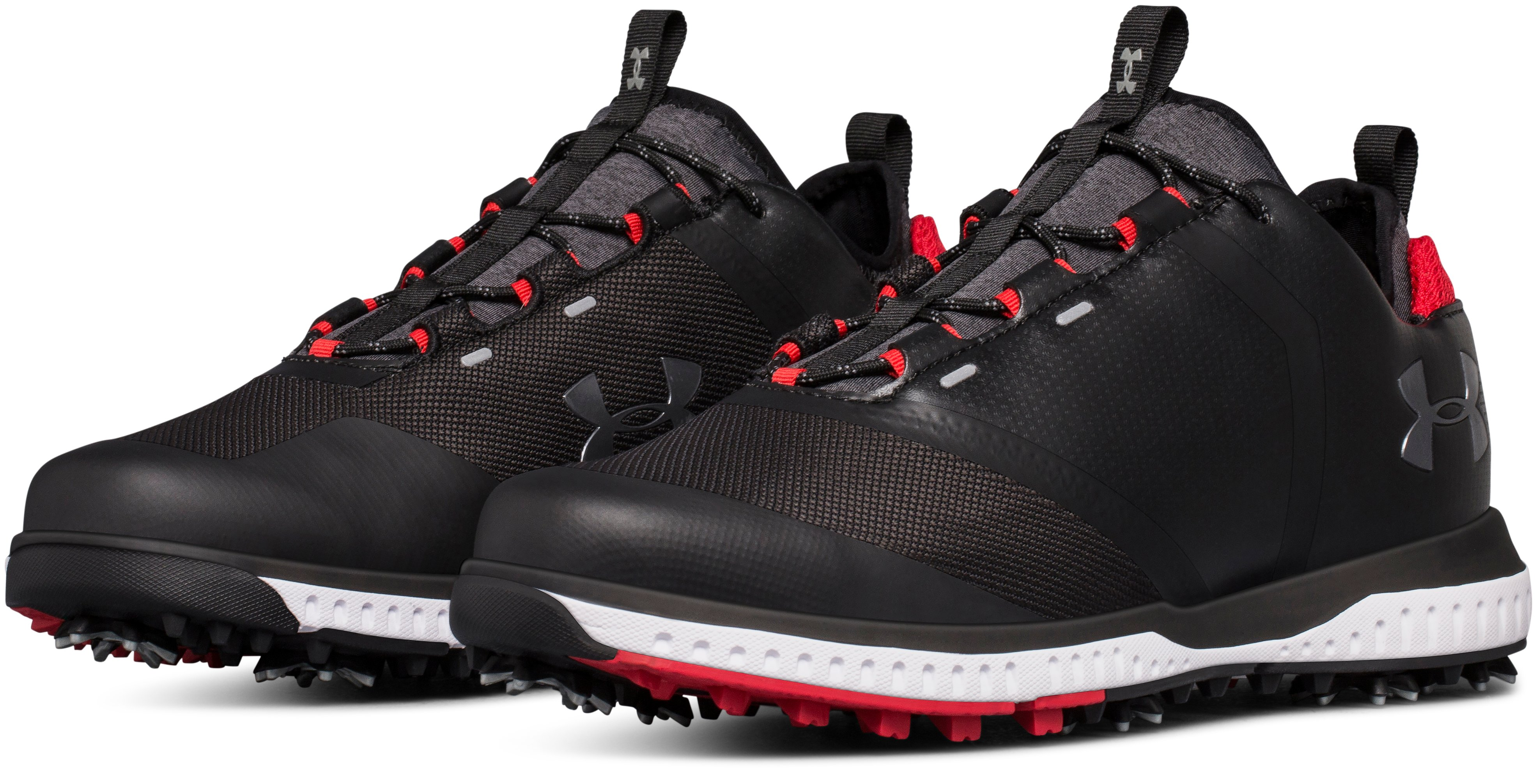 Men's UA Tempo Sport 2 Golf Shoes, Black ,