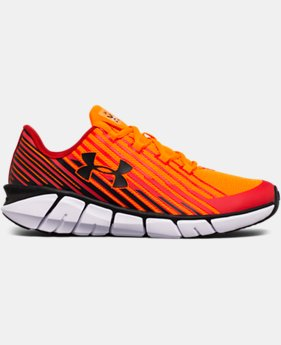 Boys' Grade School UA X Level Scramjet Remix Running Shoes LIMITED TIME OFFER 1 Color $56.24