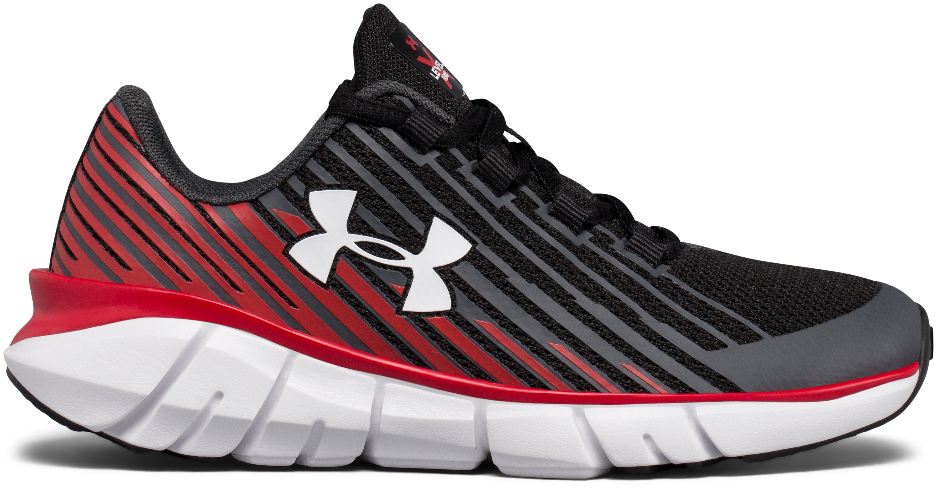 cool soccer shoes Boys' Pre-School UA X Level Scramjet Remix Running Shoes <strong>Awesome</strong> sale prices