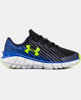 Boys' Pre-School UA X Level Scramjet Remix Running Shoes  1  Color Available $40.79 to $50.99