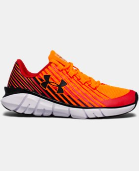 Boys' Pre-School UA X Level Scramjet Remix Running Shoes LIMITED TIME OFFER 1 Color $50.99