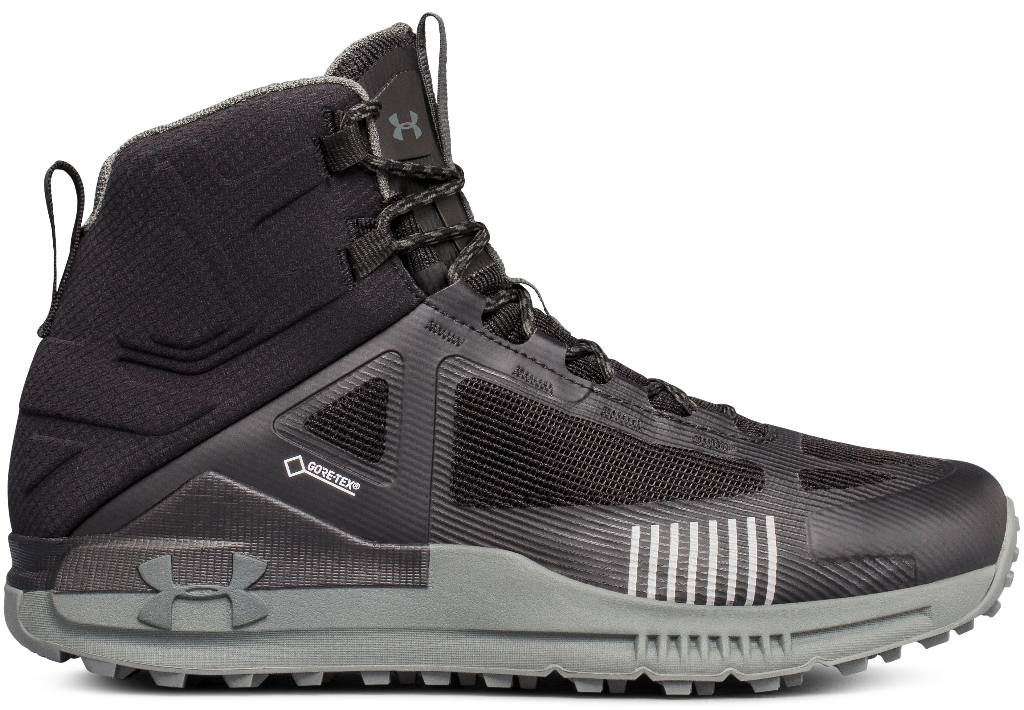 Men's UA Verge 2.0 Mid GORE-TEX®, 360 degree view