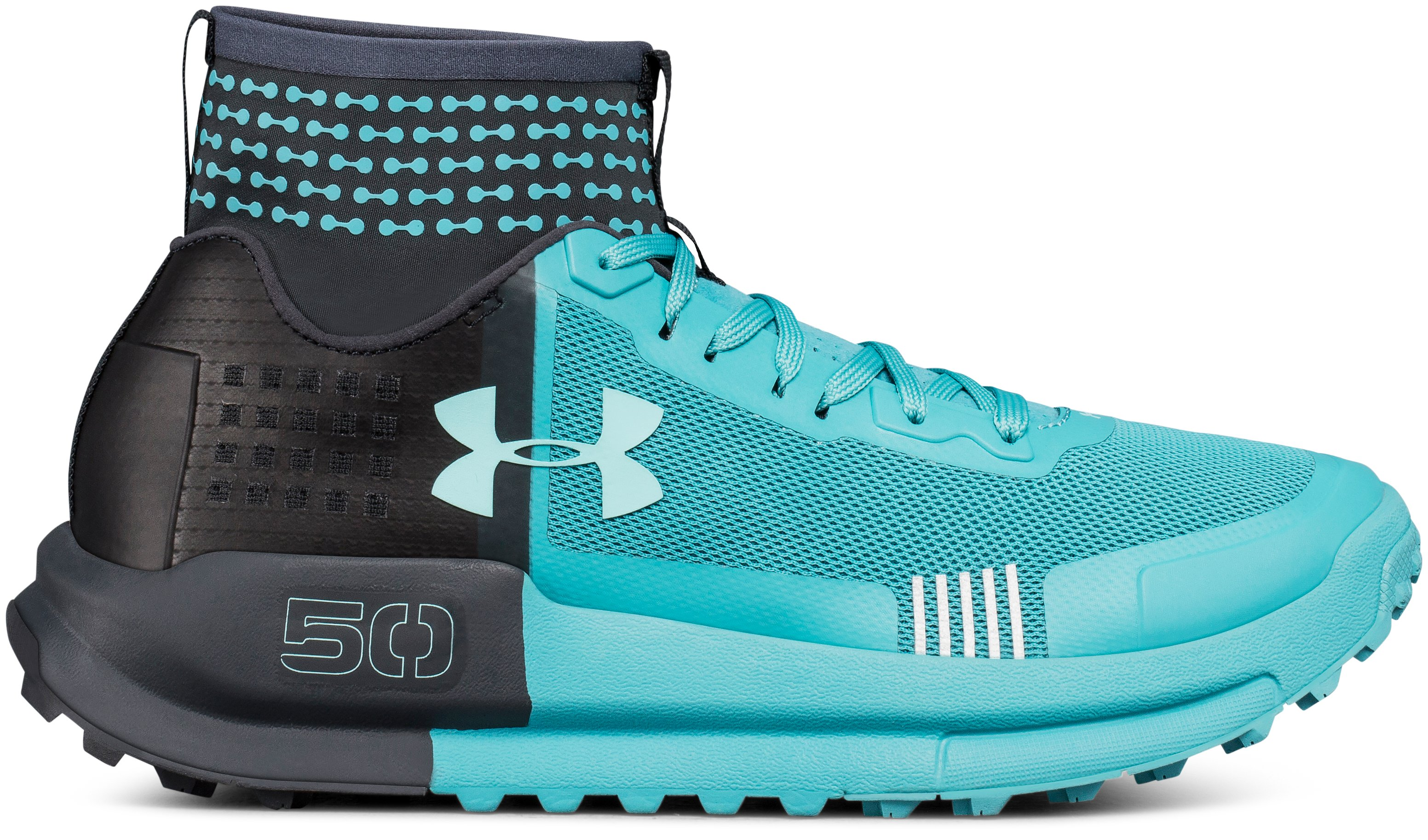 Women's UA Horizon 50 Running Shoes, 360 degree view