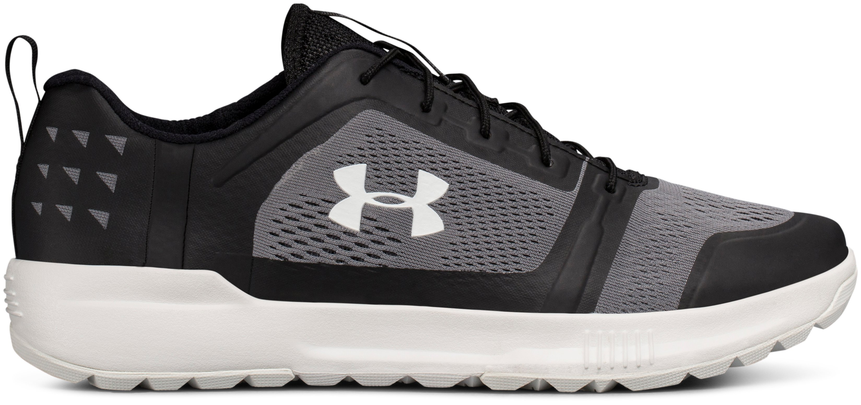 Men's UA Scupper Shoes, Black , zoomed