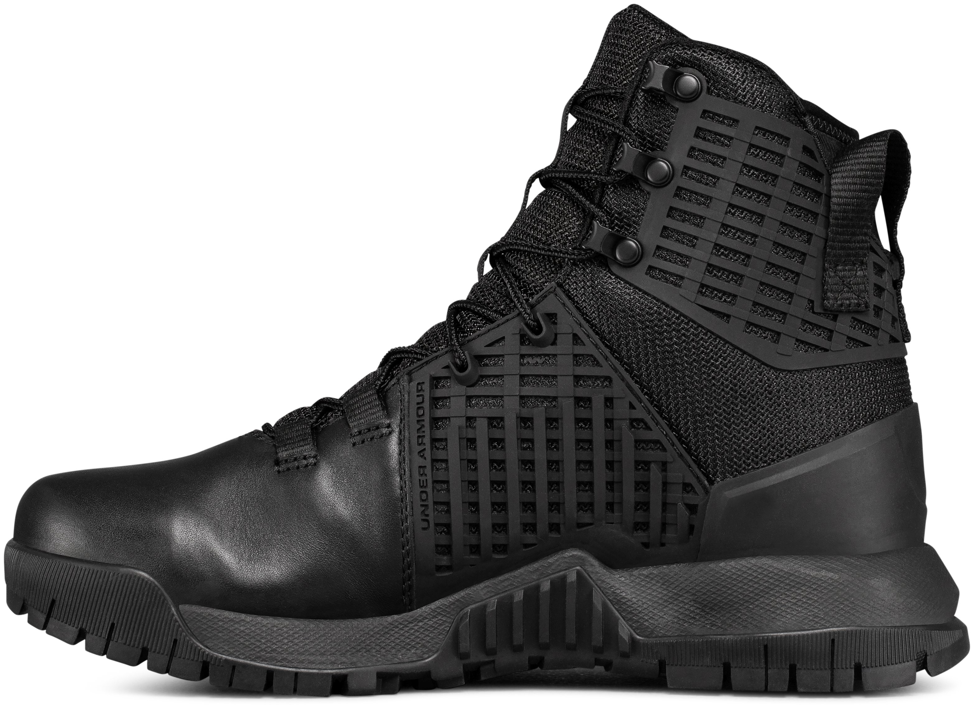 Women's UA Stryker WP Boots, Black ,