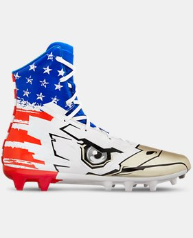 Men's UA Highlight MC LE Football Cleats  1  Color Available $140