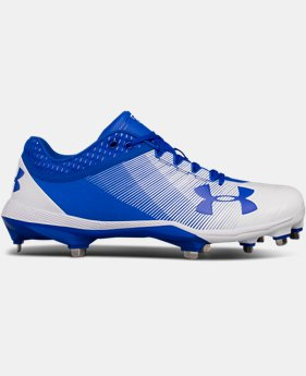 New Arrival Men's UA Yard Low DiamondTips Baseball Cleats  2 Colors $94.99