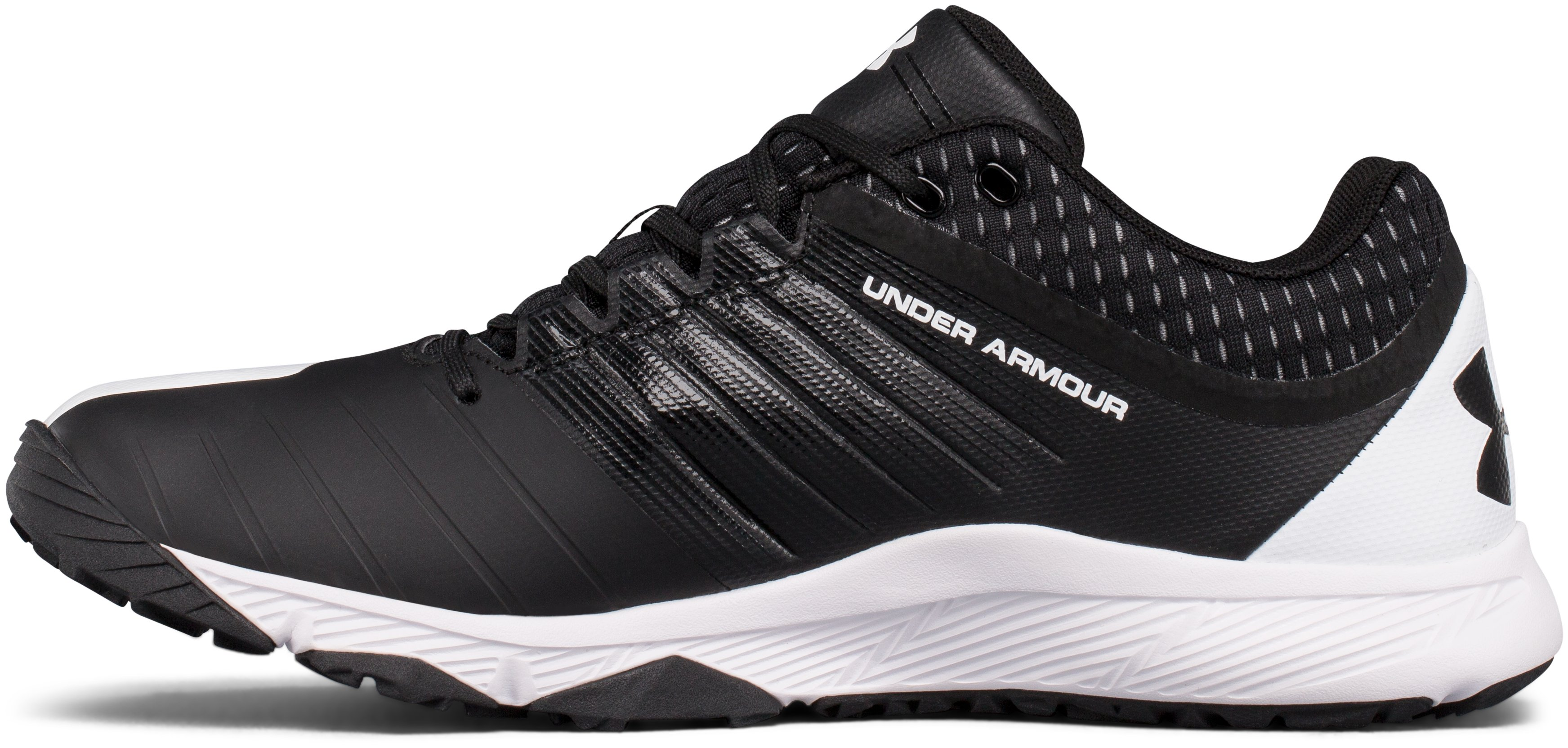Men's UA Yard Trainer Baseball Shoes, Black , undefined