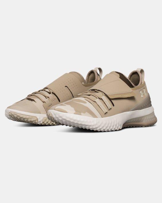 Men's UA ArchiTech Reach Valor Training Shoes, Brown, pdpMainDesktop image number 4