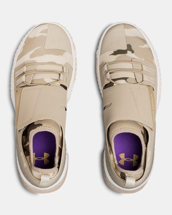 Men's UA ArchiTech Reach Valor Training Shoes, Brown, pdpMainDesktop image number 3