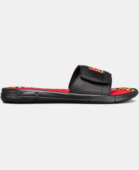 Men's UA Ignite V Collegiate Slides  2 Colors $44.99