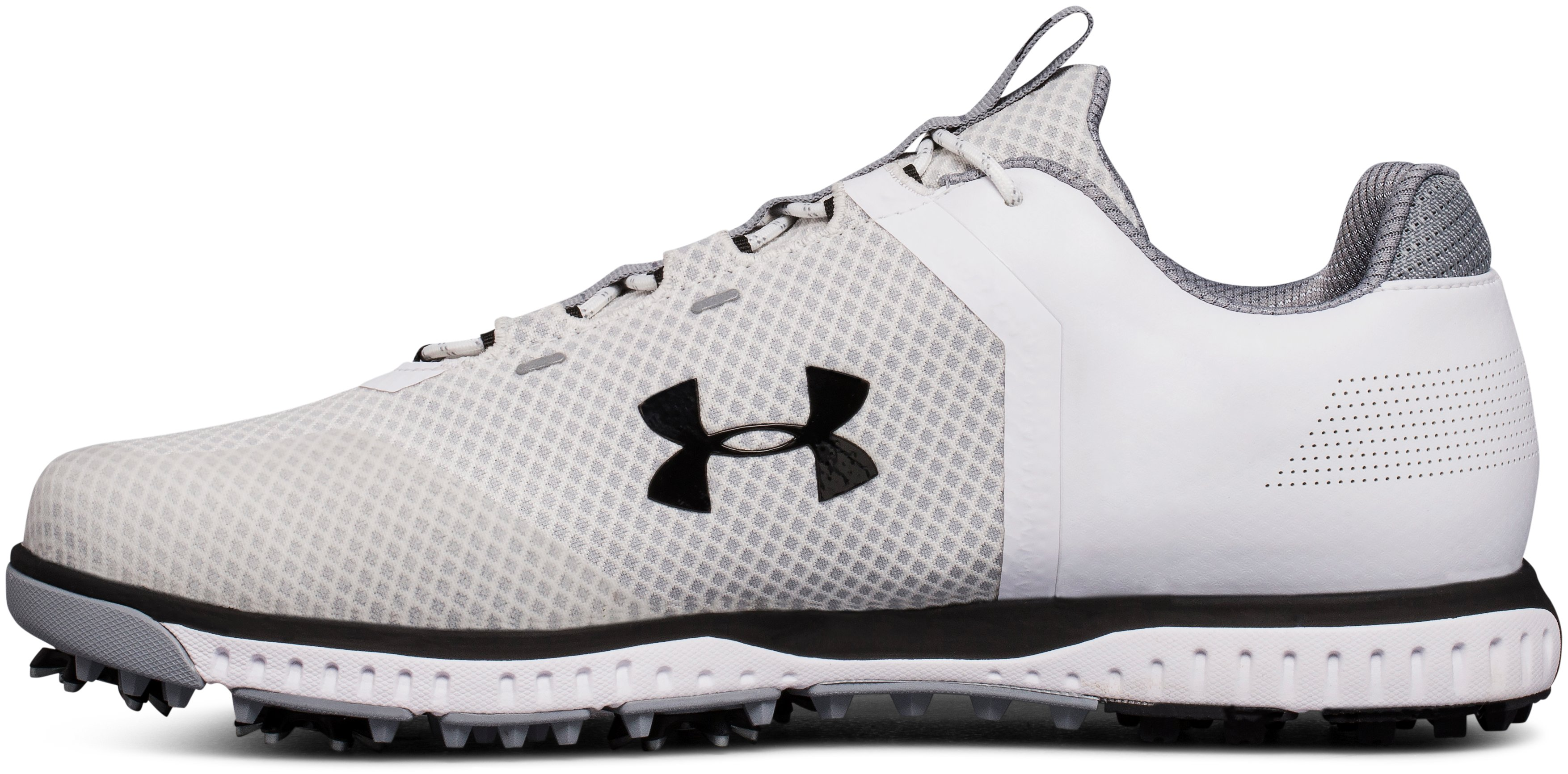 Men's UA Fade RST Golf Shoes, White, undefined