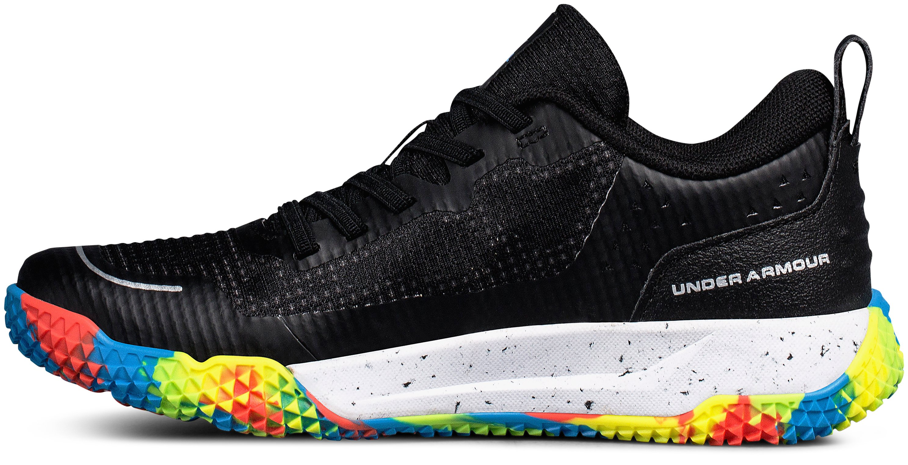 Boys' Pre-School UA X Level MainShock Alternative Lace, Black ,