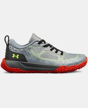 Boys' Pre-School UA X Level MainShock Alternative Lace  4  Colors Available $63