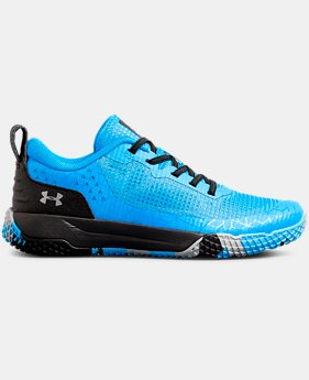 Boys' Pre-School UA X Level MainShock Alternative Lace  5  Colors Available $63