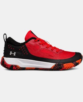 Boys' Pre-School UA X Level MainShock Alternative Lace  3  Colors Available $63