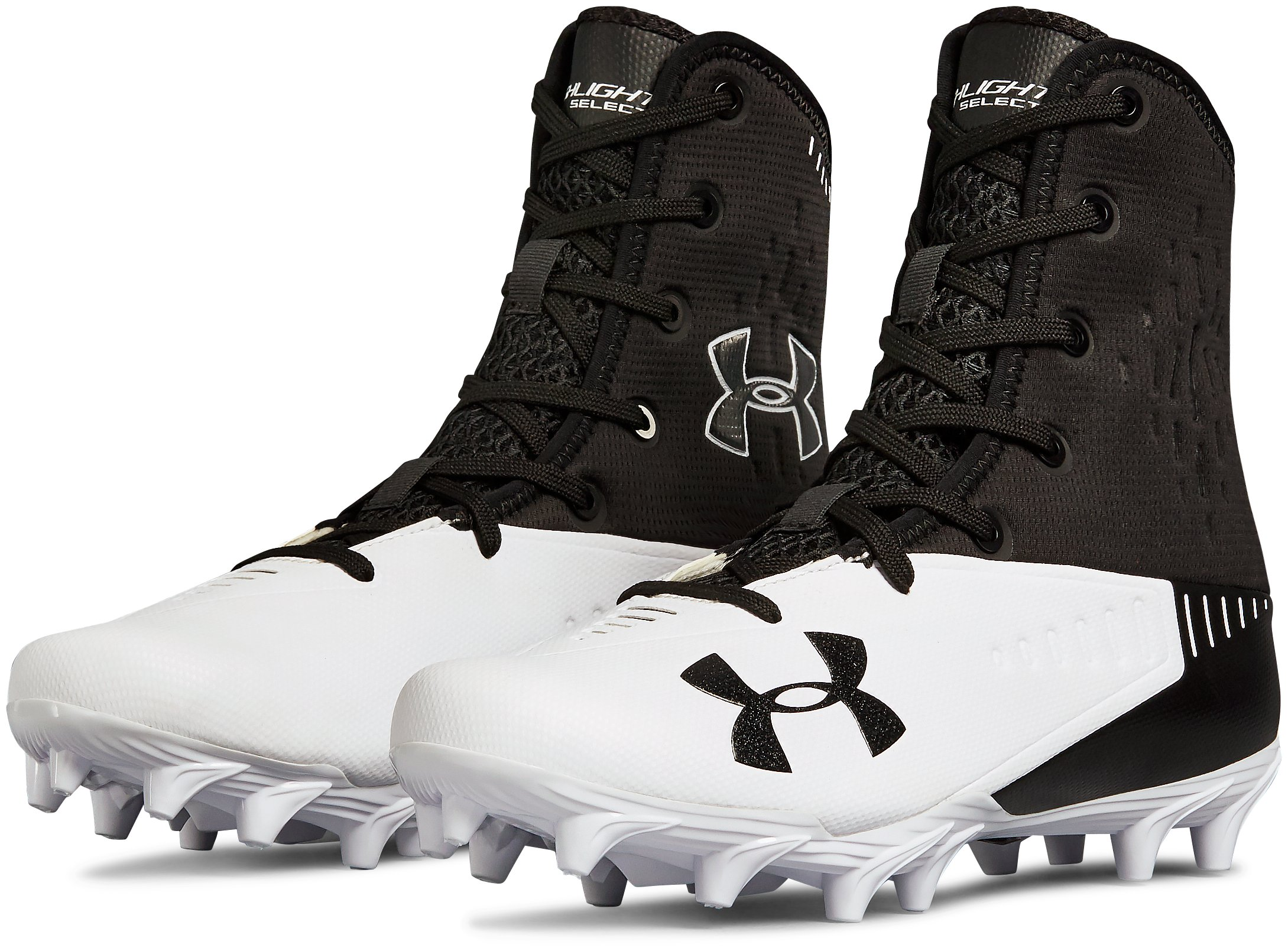 Men's UA Highlight Select MC Football Cleats, Black ,