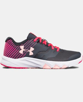 Girls' Grade School UA Primed 2 Running Shoes LIMITED TIME OFFER 2 Colors $48.74