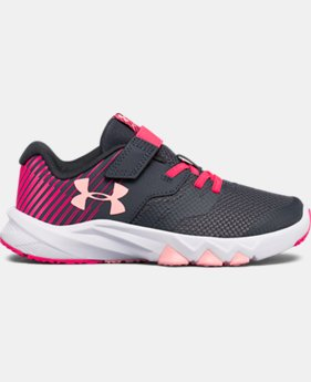 Girls' Grade School UA Primed 2 Running Shoes LIMITED TIME OFFER 1 Color $43.49