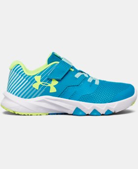 Girls' Grade School UA Primed 2 Running Shoes LIMITED TIME OFFER 2 Colors $43.49