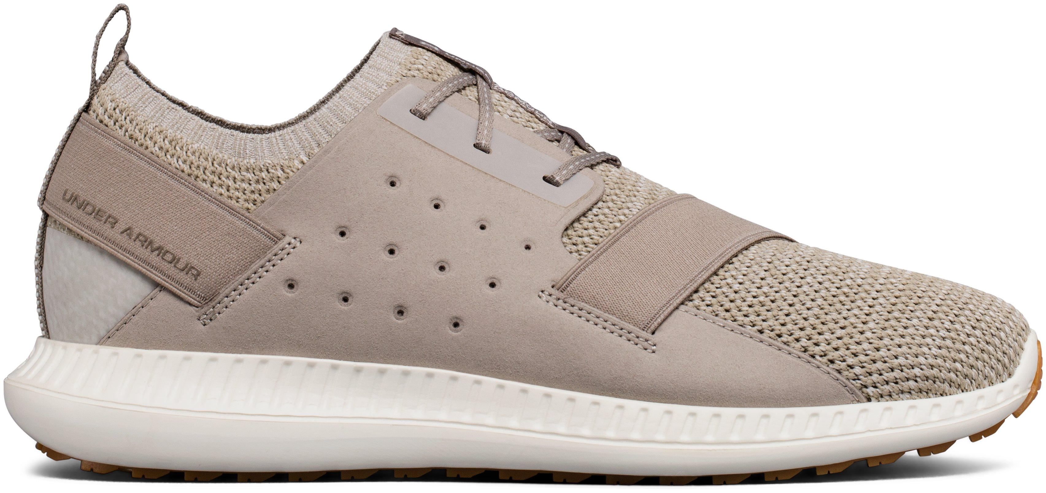 Men's UA Threadborne Shift Heathered Lifestyle Shoes, AUTUMN TAN