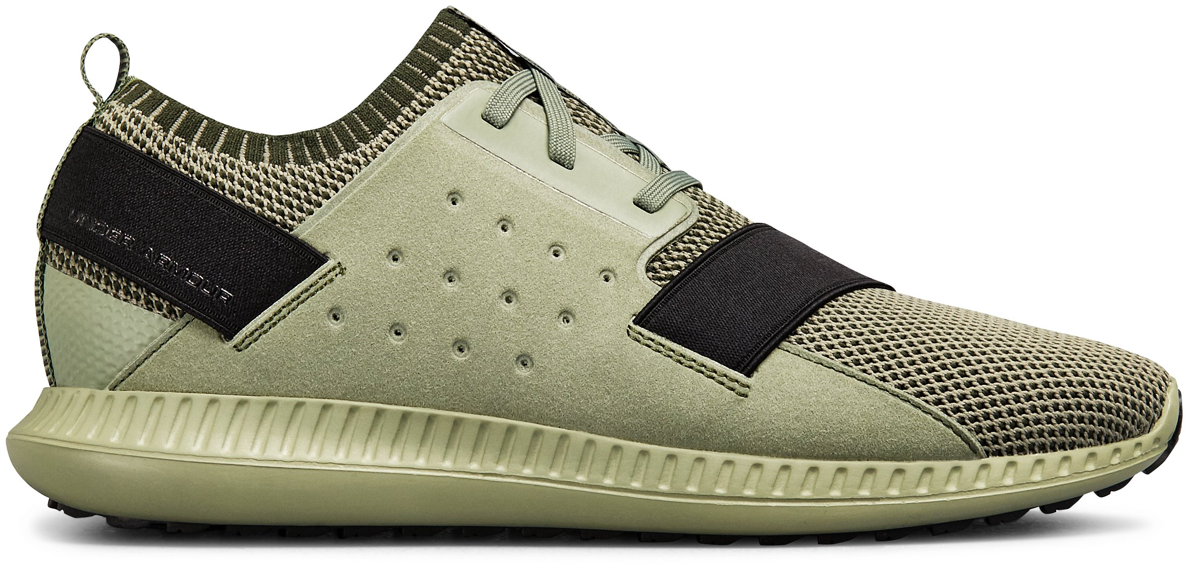Men's UA Threadborne Shift Heathered Lifestyle Shoes, Moss Green