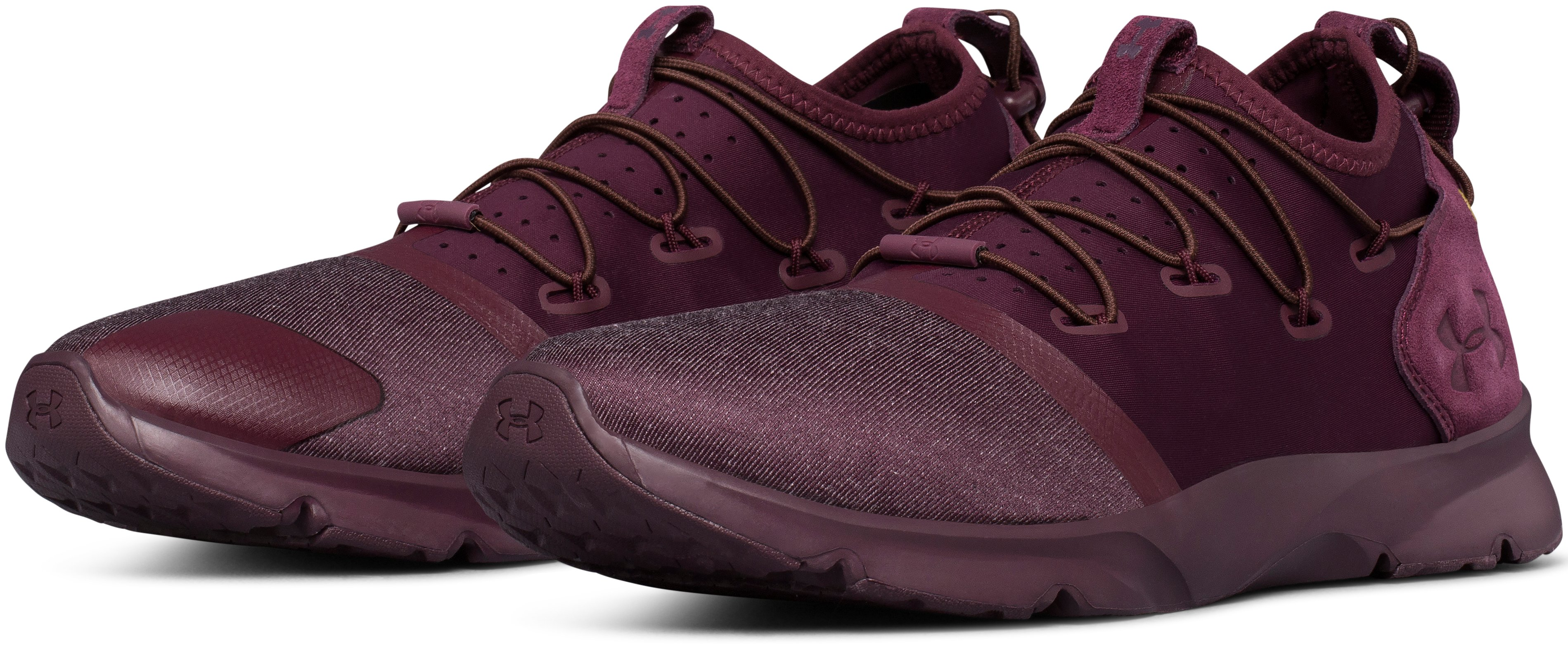 Men's UA Drift 2 Menswear Lifestyle Shoes, RAISIN RED, undefined