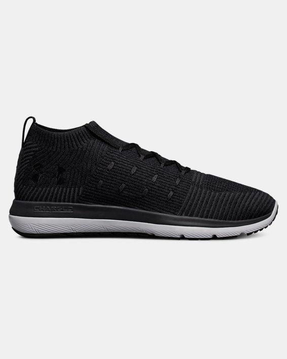 Men's UA Slingflex Rise Running Shoes, Black, pdpMainDesktop image number 0