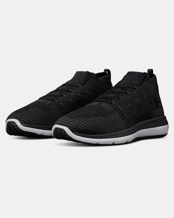 Men's UA Slingflex Rise Running Shoes, Black, pdpMainDesktop image number 4