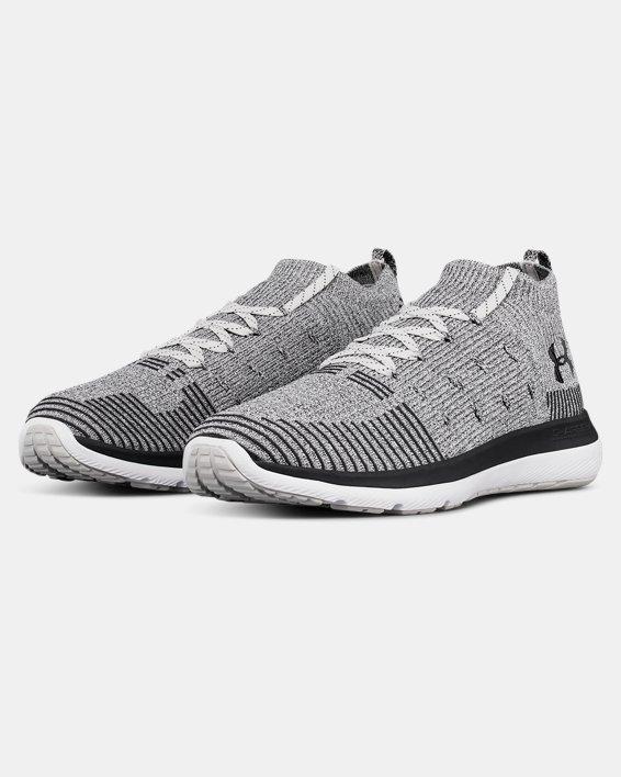 Men's UA Slingflex Rise Running Shoes, Gray, pdpMainDesktop image number 4