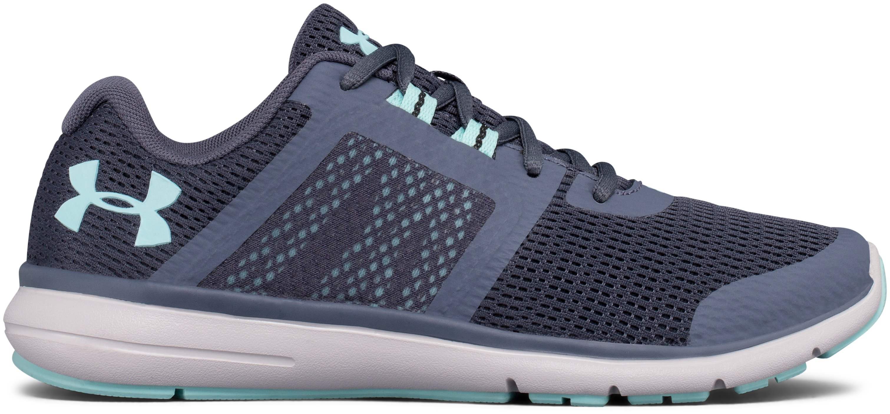 Women's UA Fuse FST D (Wide) Running Shoes, APOLLO GRAY