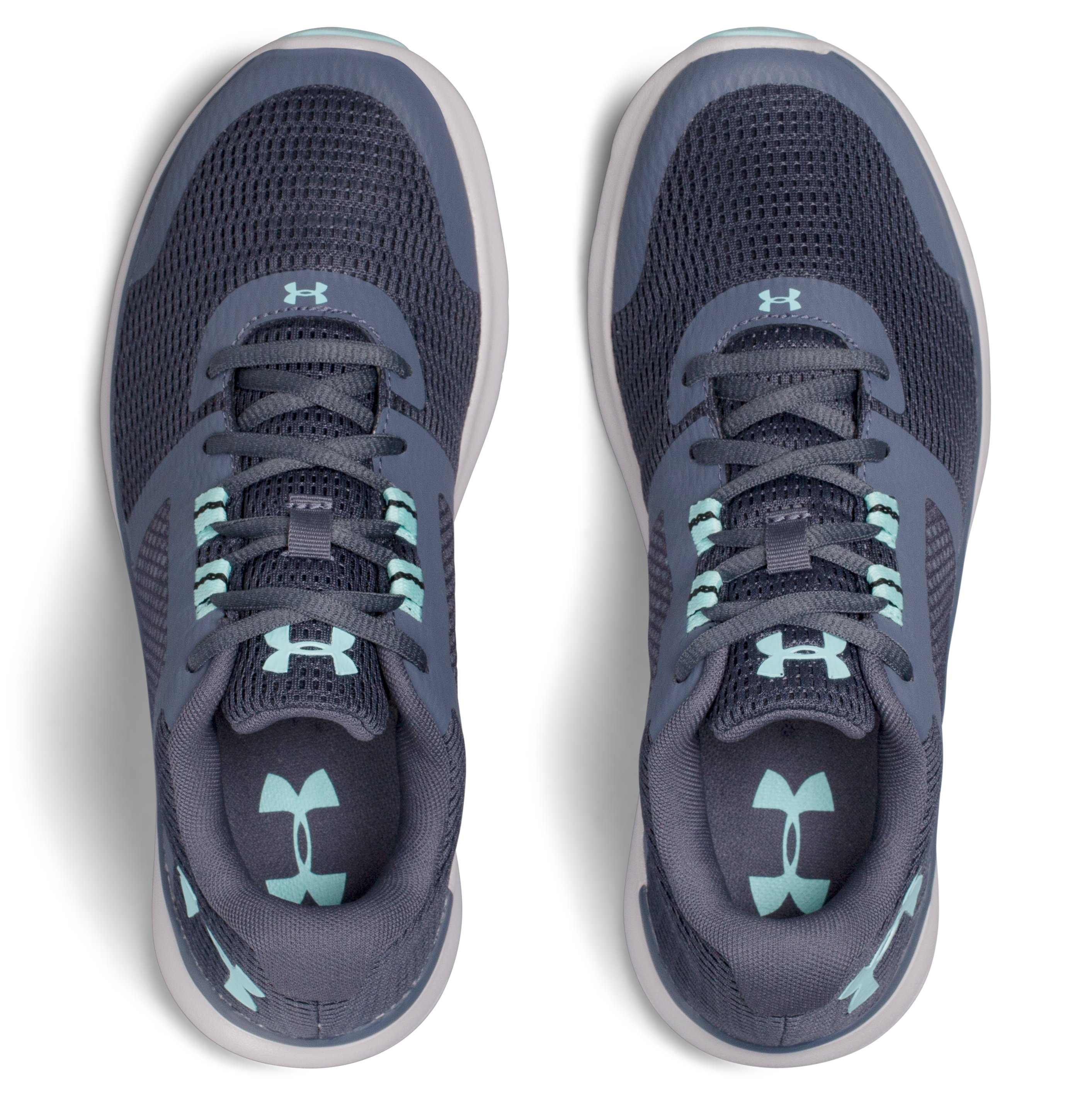 Women's UA Fuse FST D (Wide) Running Shoes, APOLLO GRAY,