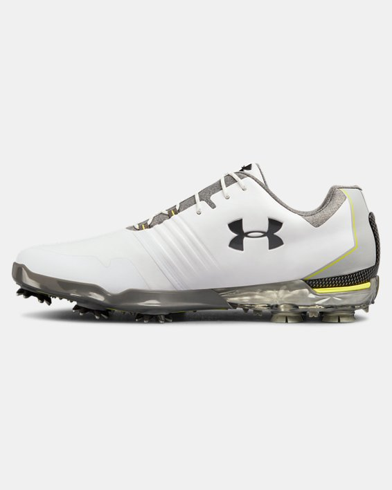 Men's UA Match Play Golf Shoes, White, pdpMainDesktop image number 1