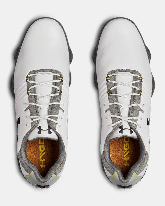 Men's UA Match Play Golf Shoes, White, pdpMainDesktop image number 3