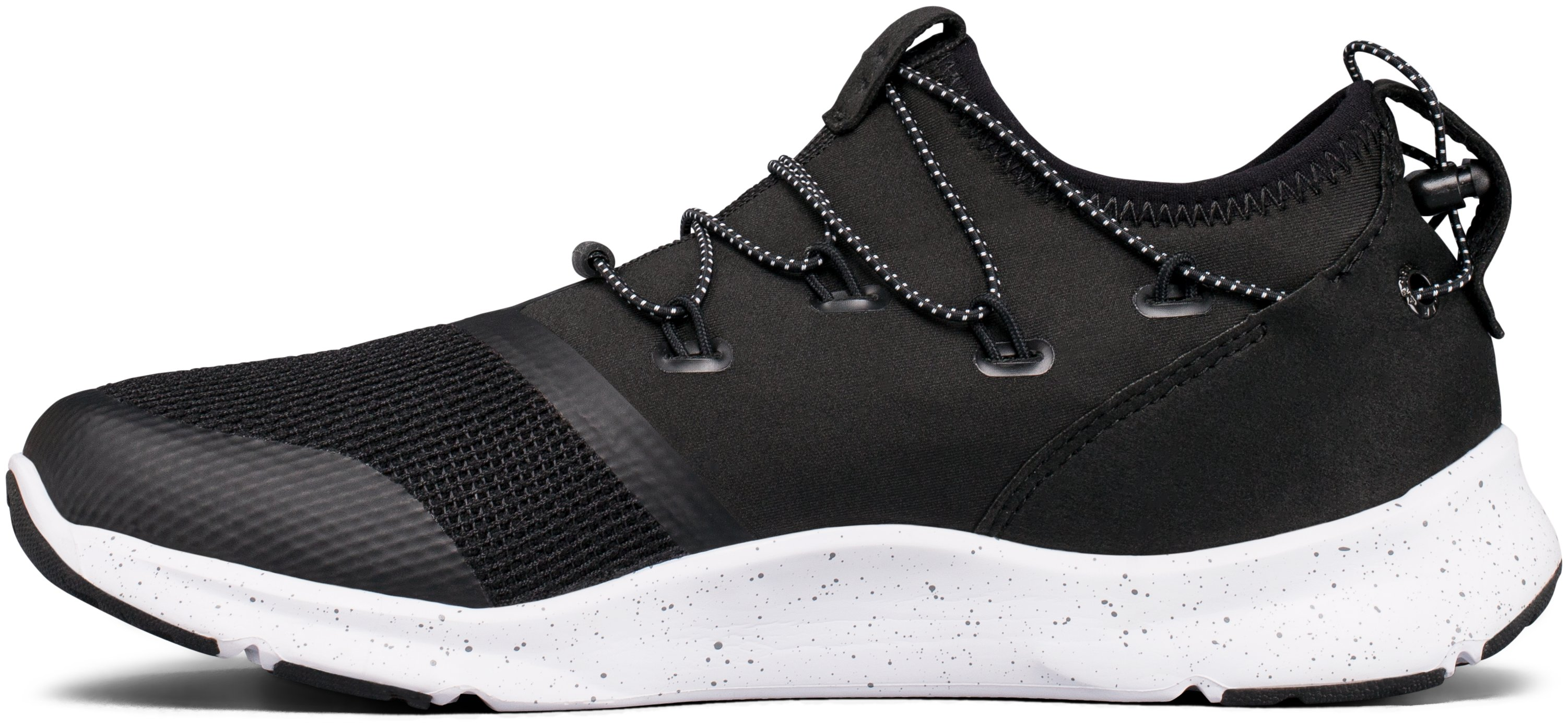 Boys' Grade School UA Drift 2 Running Shoes, Black ,