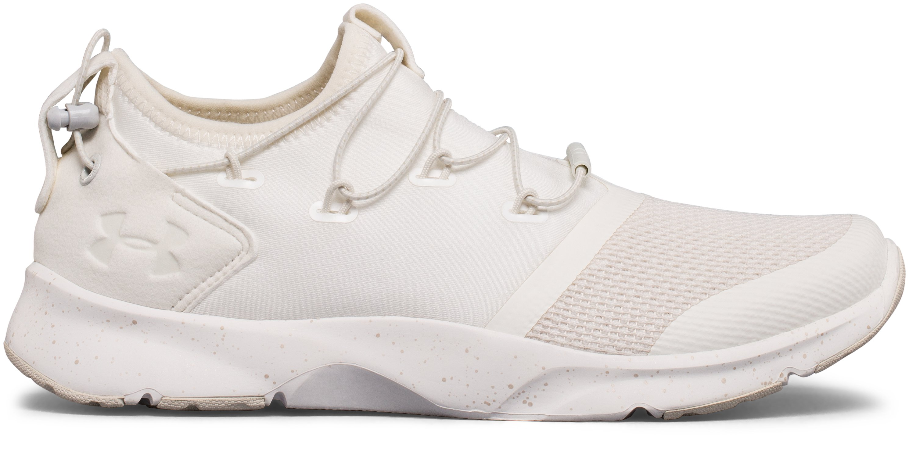 Under Armour PRESS 2 - Sports shoes - ivory