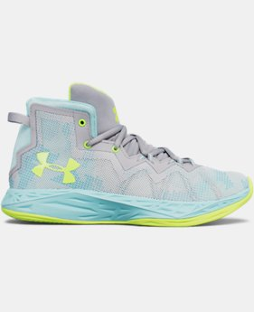 Girls' Grade School UA Lightning 4 Basketball Shoes  1  Color Available $52.49
