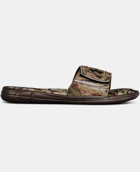 Men's UA Ignite Ridge Reaper Slides  1  Color Available $38