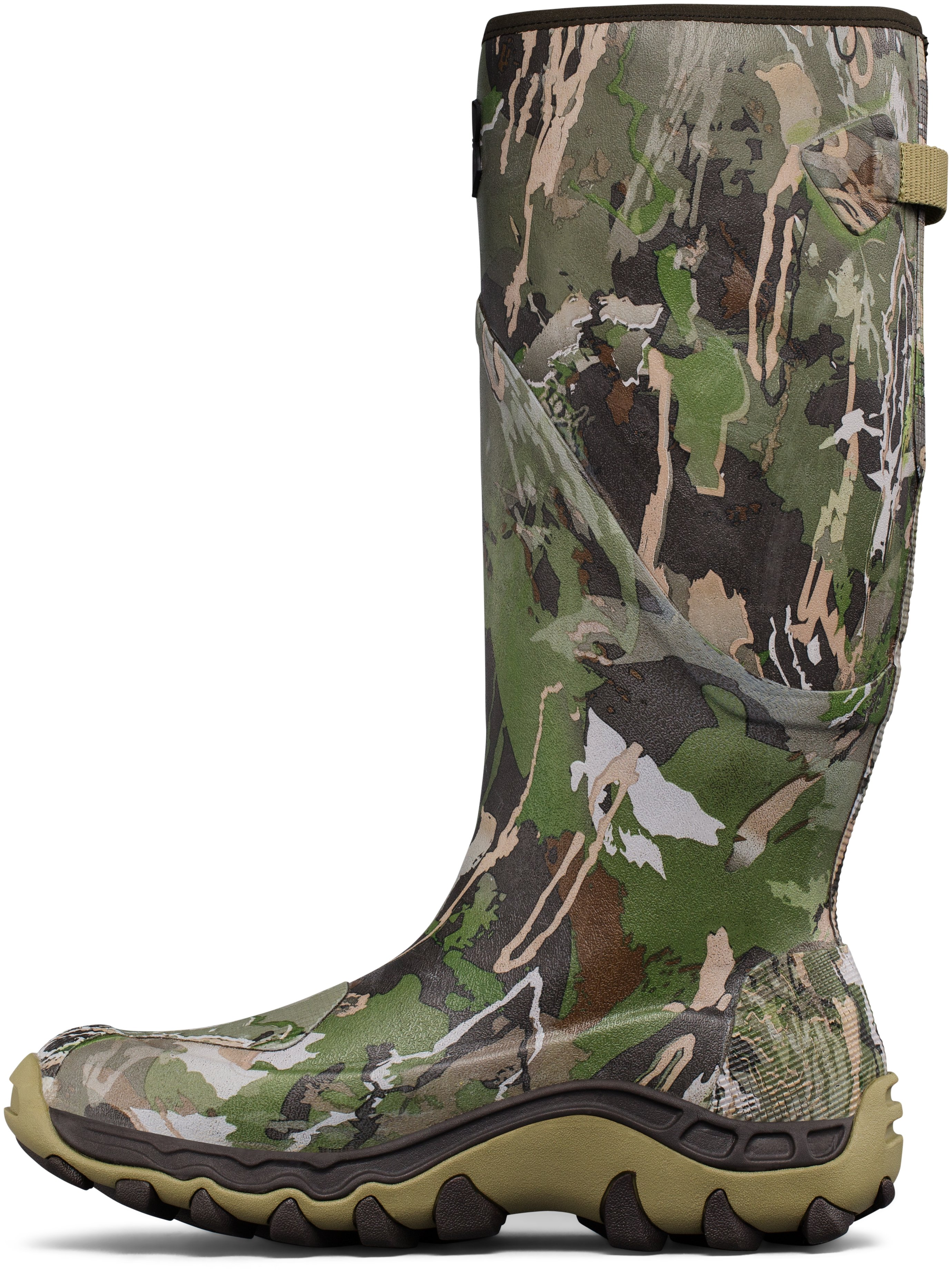 Men's UA Mud Hawg Hunting Boots, RIDGE REAPER® FOREST,