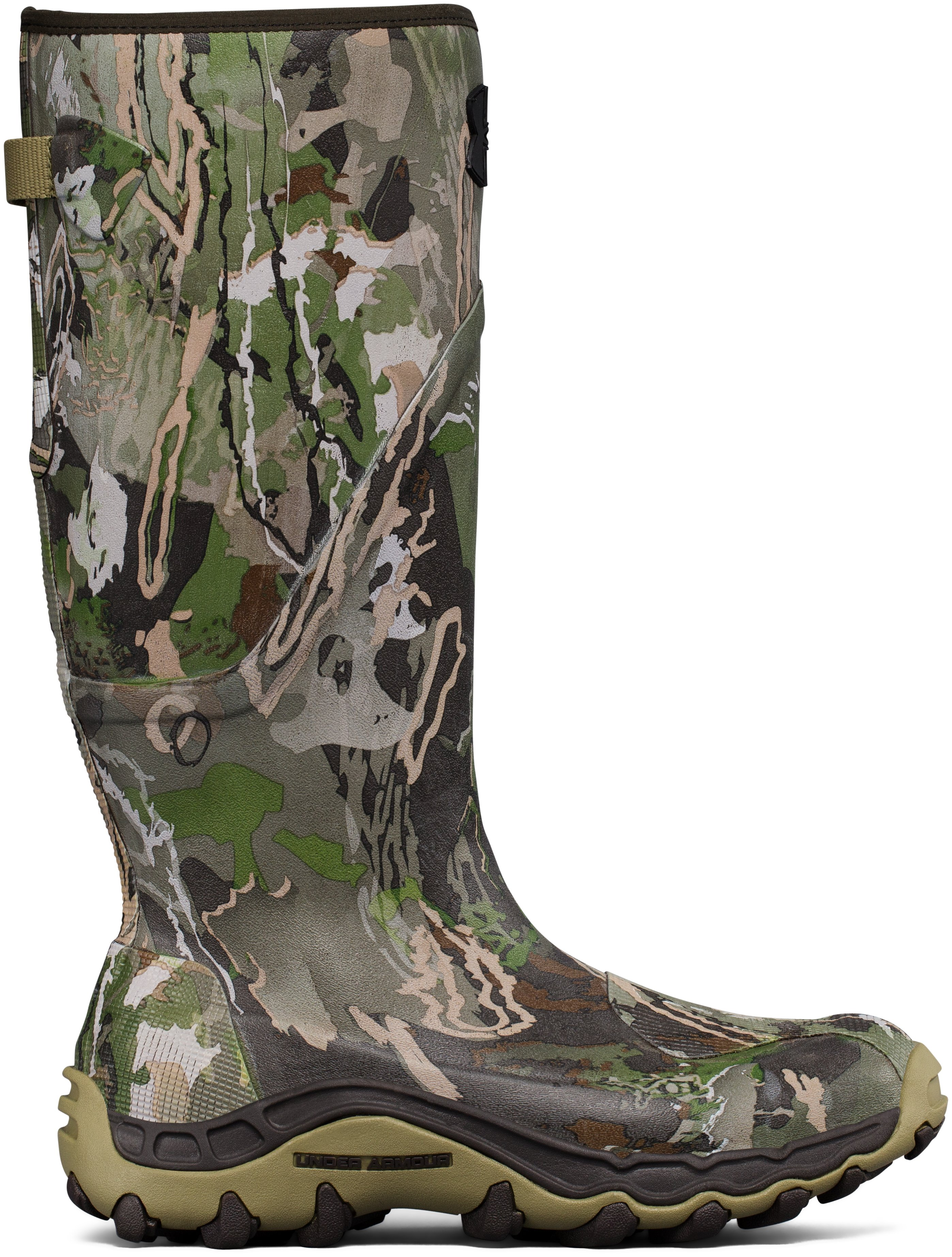 Men's UA Mud Hawg Hunting Boots, RIDGE REAPER® FOREST
