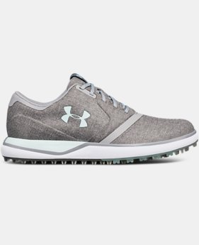 Women's UA Performance SL Sunbrella® Spikeless Golf Shoes   $130