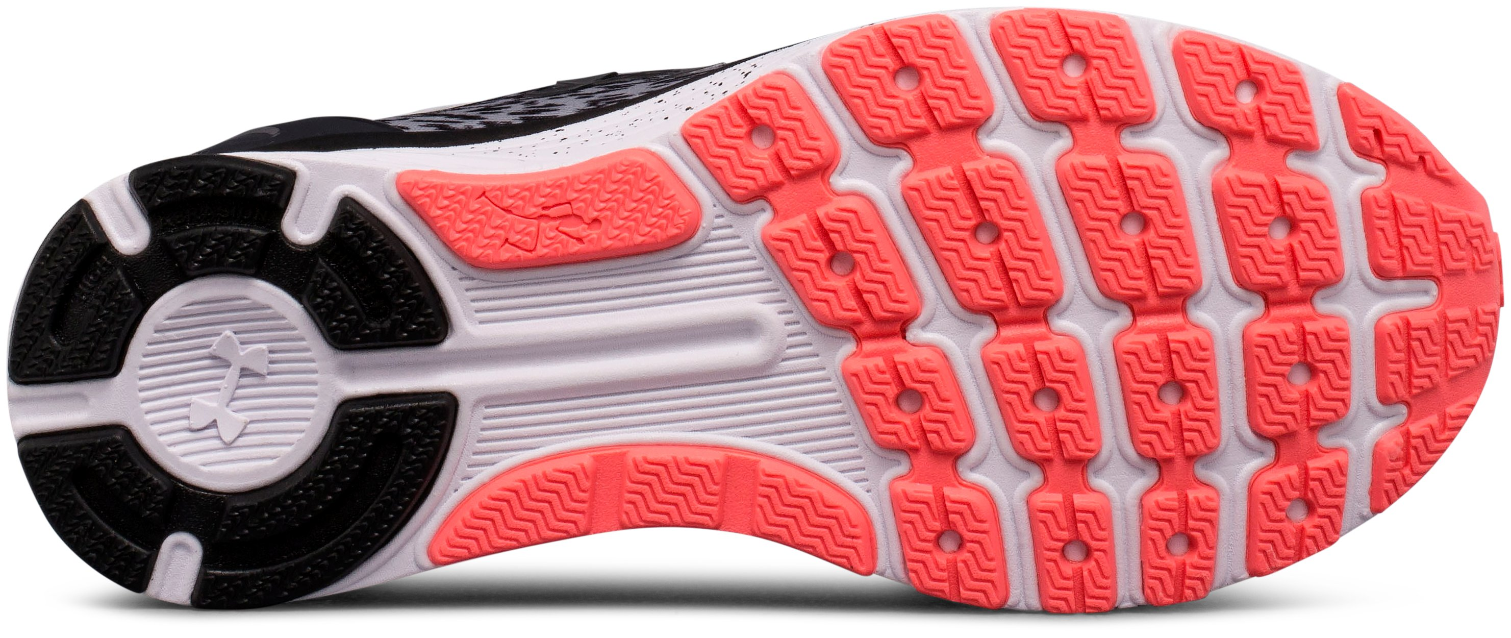 Women's UA Charged Bandit 3 Ombre Running Shoes, OVERCAST GRAY,