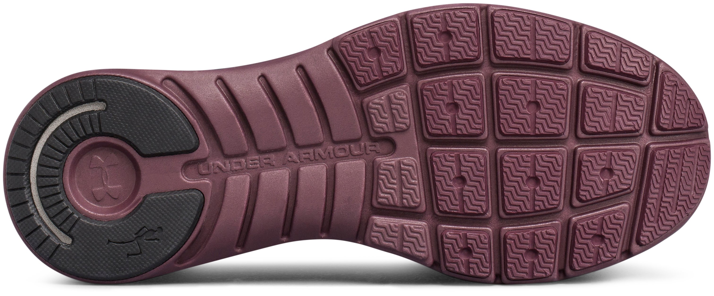 Women's UA Slingwrap Phase Shoes, RAISIN RED,