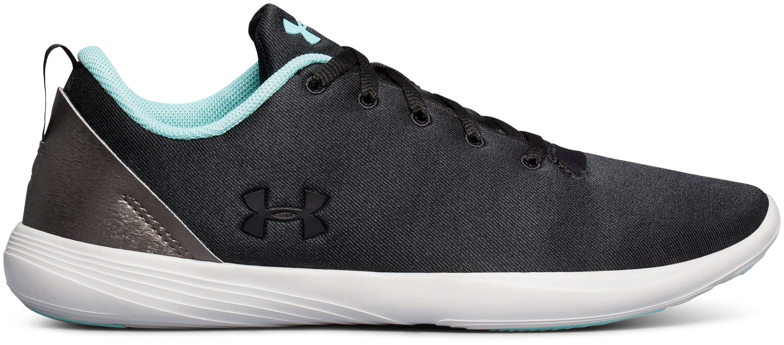Women's UA Street Precision Low Canvas Training Shoes, Black