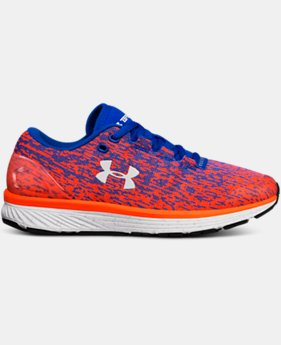 New Arrival Boys' Grade School UA Charged Bandit 3 Ombre Running Shoes  1 Color $75