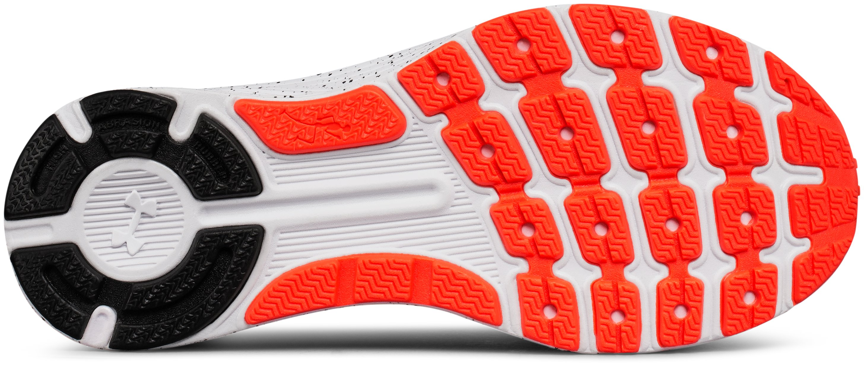 Boys' Grade School UA Charged Bandit 3 Ombre Running Shoes, NEON CORAL, undefined
