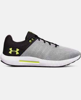 Men's UA Micro G Pursuit 4E Running Shoes  2  Colors Available $70