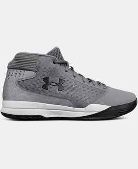 Men's UA Jet Mid Basketball Shoes  5  Colors Available $75